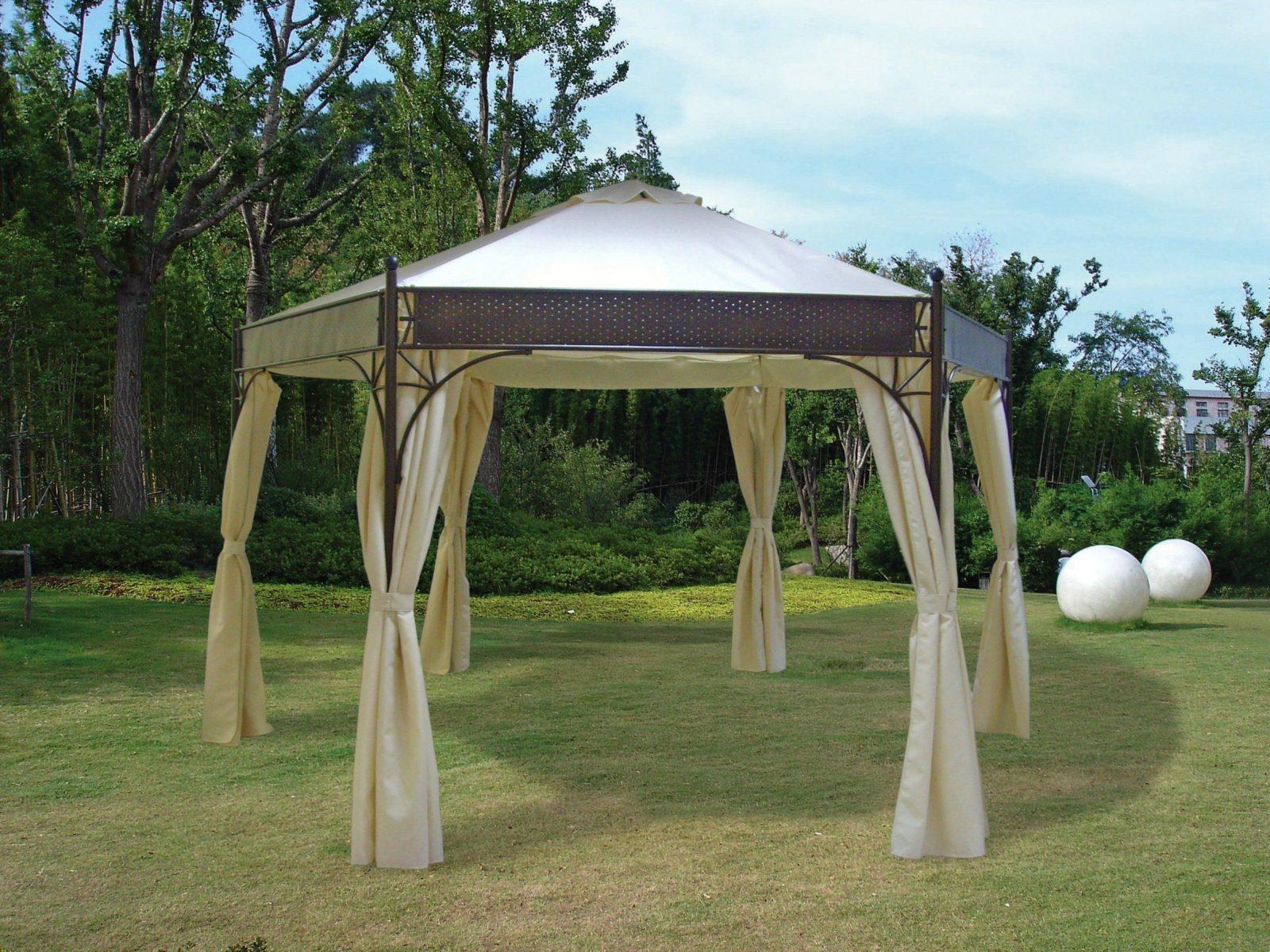 Stylischen Pavillon Von Frg Bequem Online Bestellen  Lrkmoebel von Pavillon Mit Wasserdichtem Dach Bild