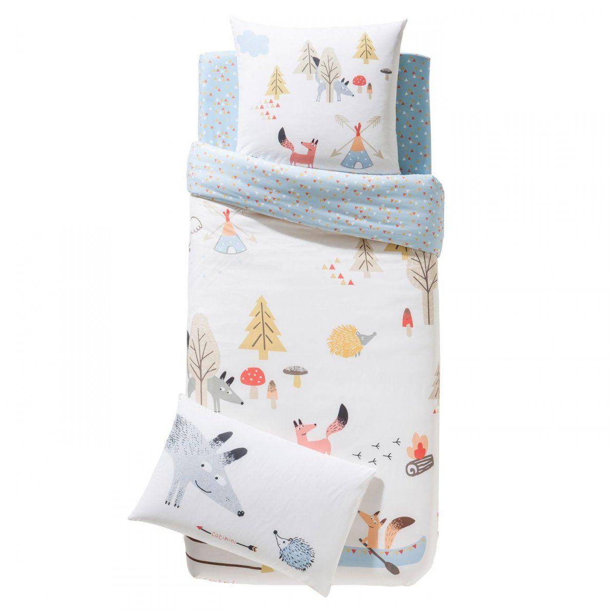 Surprising Inspiration Bettwasche Kinder Bettwäsche Garnitur Tipis von Kinderbettwäsche 100X135 Ikea Bild