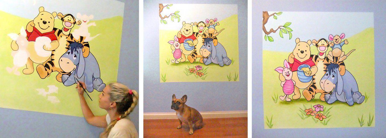 Sweetwall  Wunschmotive Für Deine Wand Wandmalerei Für von Vorlagen Wandbilder Für Kinderzimmer Bild