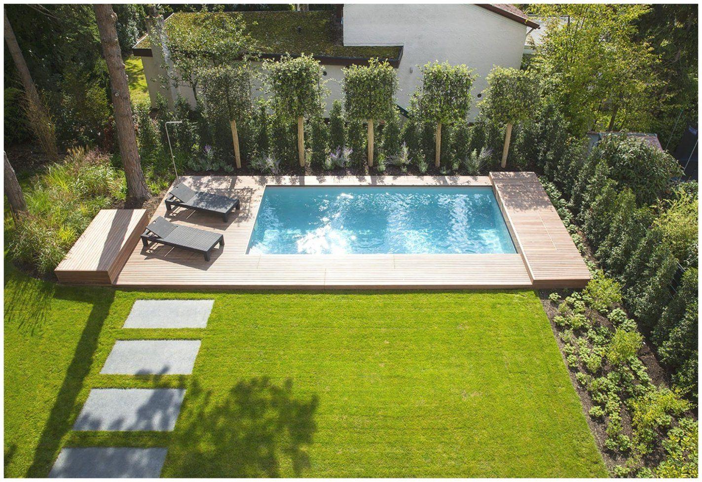Swimmingpool Für Den Garten 452340 Verwunderlich Bilder von Garten Gestalten Mit Pool Bild