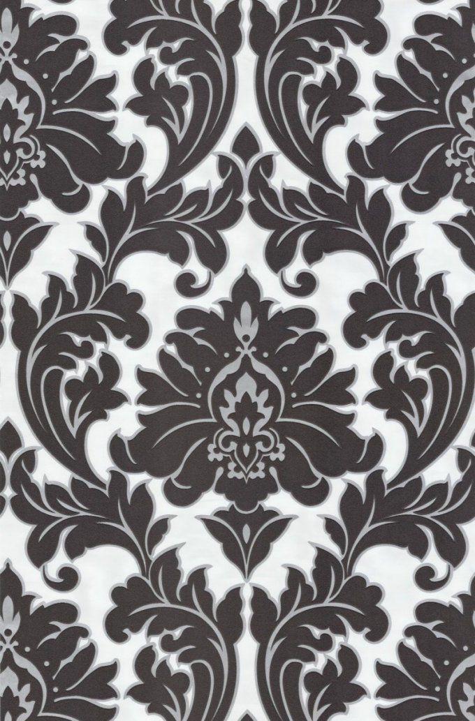 Tapete Majestic Col 01  Ft231045  Barock Tapeten In Den Farben von Barock Tapete Schwarz Weiß Photo