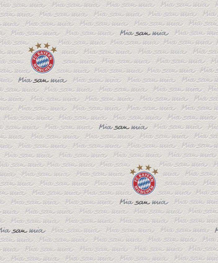 Tapete Rasch 782936 Fc Bayern München  Kostenloser Versand von Fc Bayern Gardinen Photo