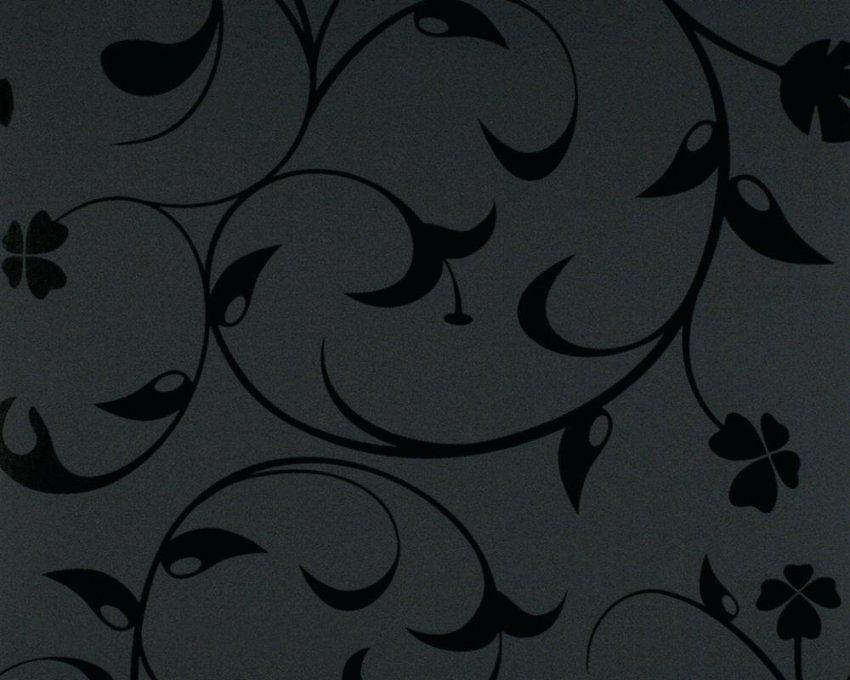 Tapete Schwarz Grau Wunderschane Ideen Schwarze Mit Muster Und von Schwarze Tapete Mit Muster Photo