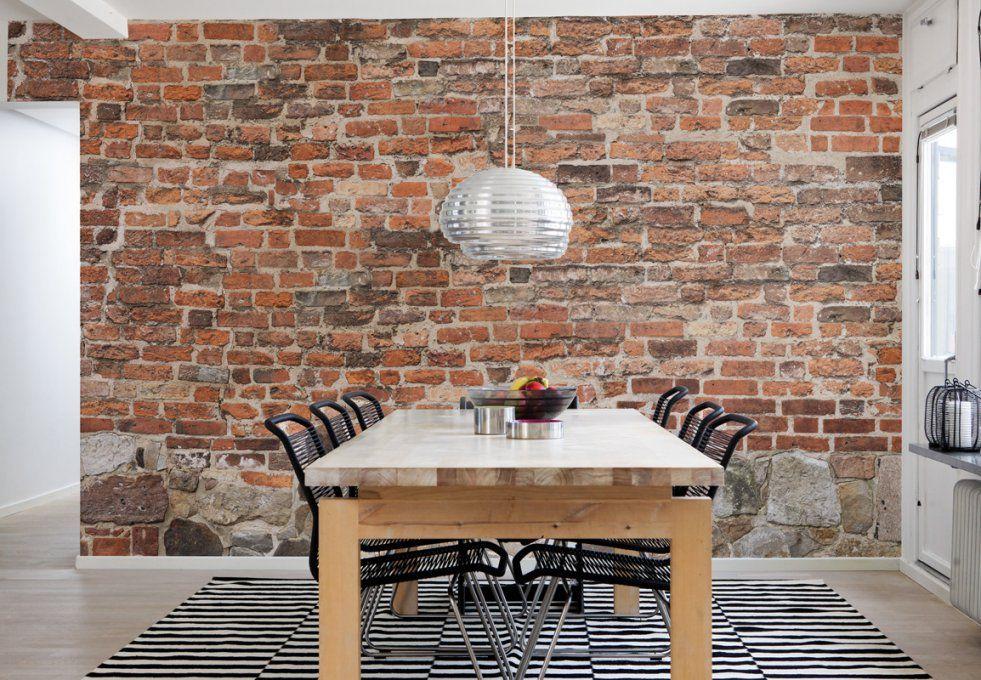 Tapete Steinoptik 3D Selbstklebend – Interior Design Ideen von Rasch Factory Stein Optik Mauer Vlies Tapete Bild