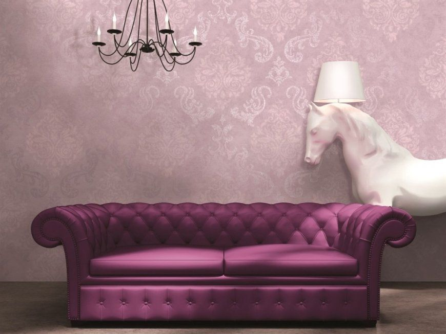 Tapeten Lila Farbe Wandgestaltung Cool Auf Dekoideen Fur Ihr Zuhause von Tapeten Lila Farbe Wandgestaltung Photo