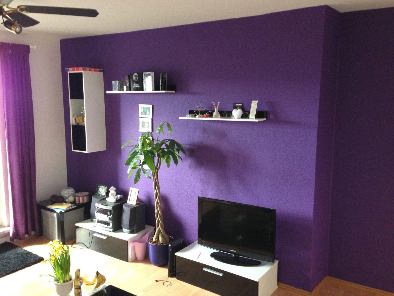... Tapeten Lila Farbe Wandgestaltung Skillful Ideas Wandgestaltung Lila  Von Tapeten Lila Farbe Wandgestaltung Bild ...