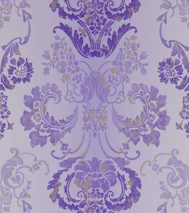 Tapeten Lila Farbe Wandgestaltung Trend Tapeten Lila Farbe von Tapeten Lila Farbe Wandgestaltung Photo