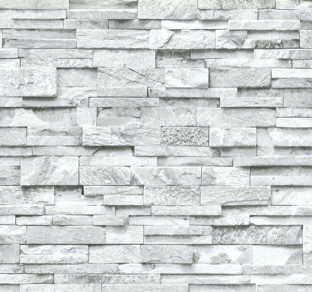 Tapeten Mit Steinmuster Vliestapete Stein 3D Optik Grau Weia Mauer von Rasch Factory Stein Optik Mauer Vlies Tapete Bild