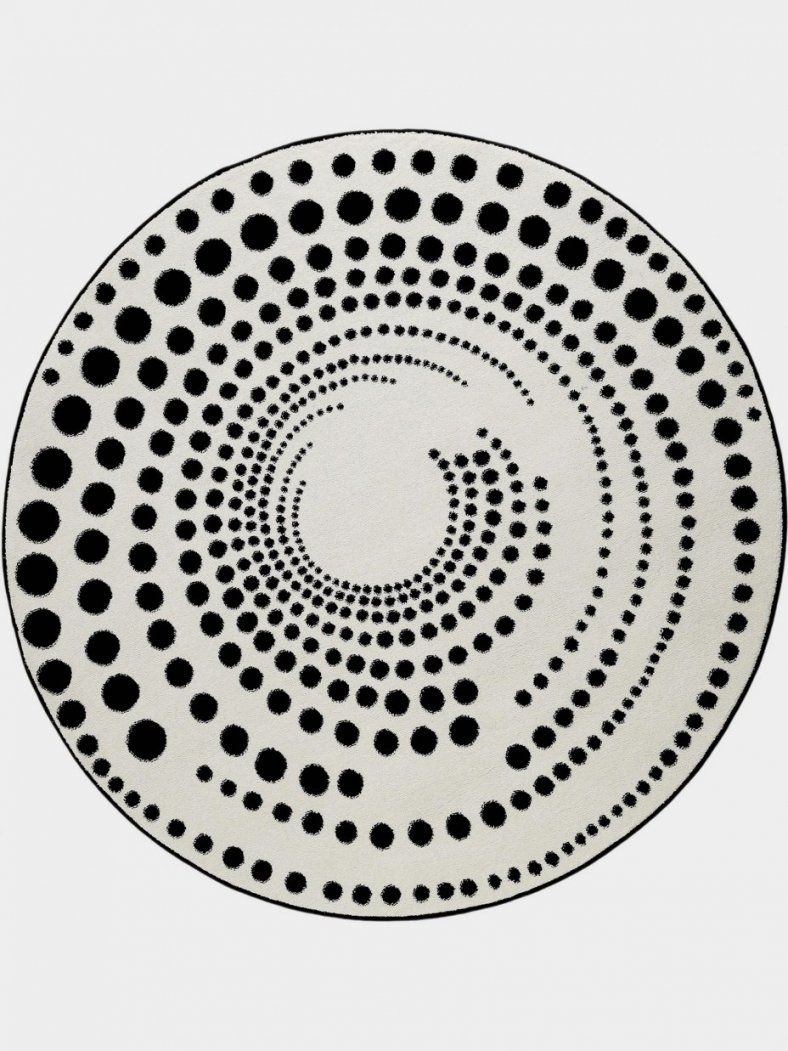 Teppich Rund Schwarz Genial Teppich Rund Schwarz Weiß Genial Teppich von Teppich Rund Schwarz Weiß Photo