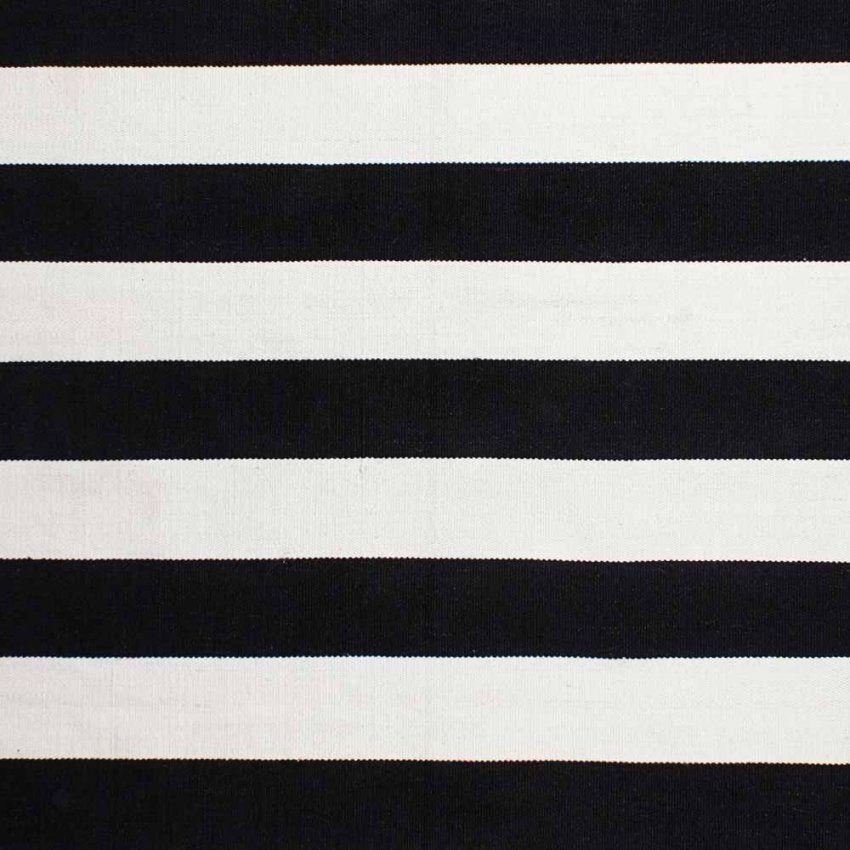 Teppich Schwarz Weiß Gestreift Einfach Orientalischer Teppich von Teppich Schwarz Weiß Gestreift Bild