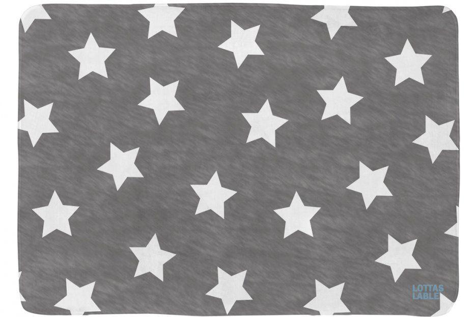 Teppich Von Lotta's Lable In Anthrazit von Lottas Lable Teppich Sterne Bild