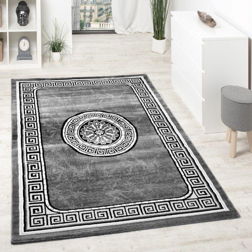 Teppiche Nemerkenswert Teppich Schwarz Weiß Grau Ideen Wunderbar von Teppich Schwarz Weiß Gestreift Bild