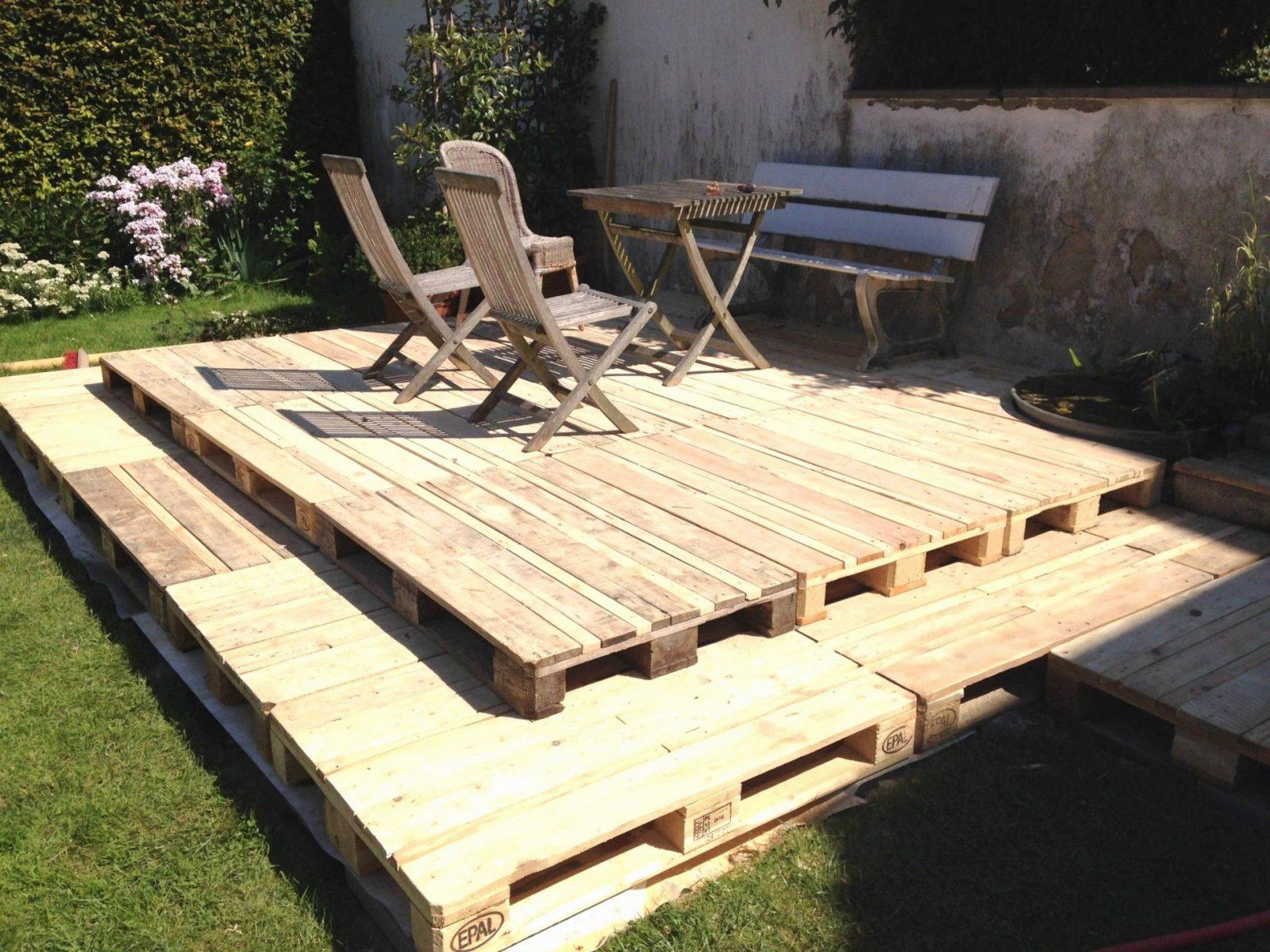 Terrasse Selber Bauen Aus Paletten Frisch Garten Sichtschutz Garten von Terrasse Bauen Mit Europaletten Photo