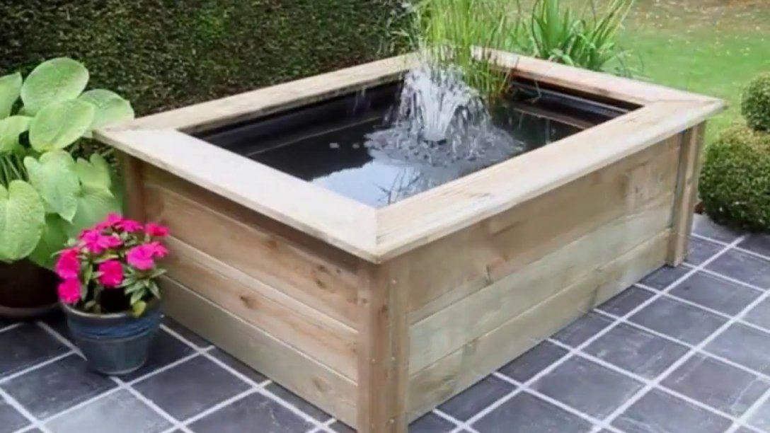 terrassenbrunnen selber bauen springbrunnen selber bauen. Black Bedroom Furniture Sets. Home Design Ideas