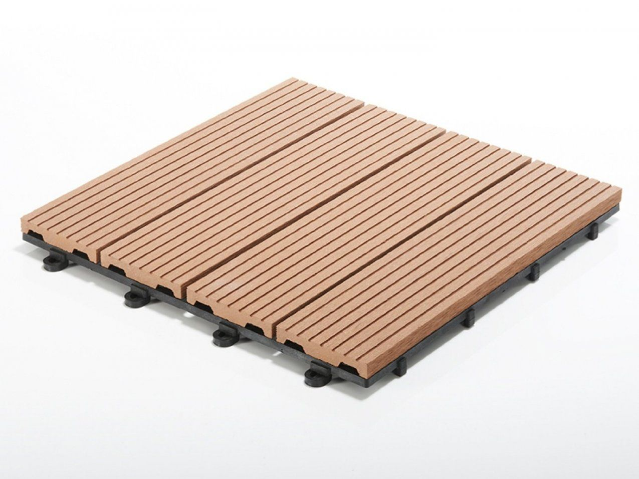 Terrassenfliesen Set Timber Braun  Menge Wählbar 11 Stück  1M² von Wpc Klick Fliesen Günstig Photo