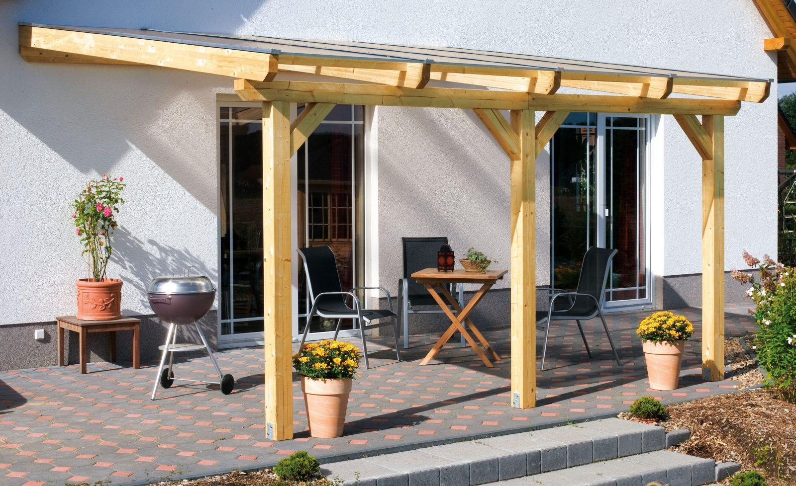 Terrassenüberdachung Bauanleitung Frisch Terrassenüberdachung Holz von Überdachung Holz Selber Bauen Bild