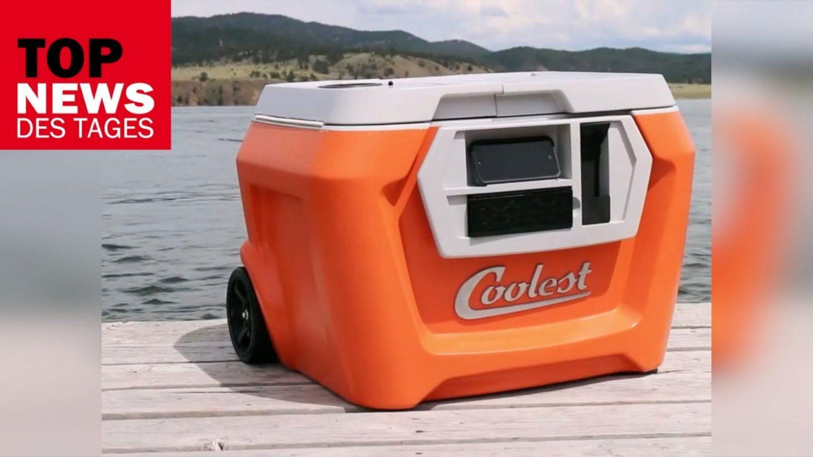 The Coolest Fünf Millionen Usdollar Für Eine Kühlbox  Youtube von Peltier Element Kühlbox Selber Bauen Photo