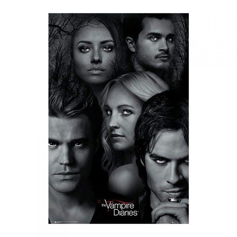 The Vampire Diaries Poster Bei Close Up Im Shop von Vampire Diaries Bettwäsche Photo