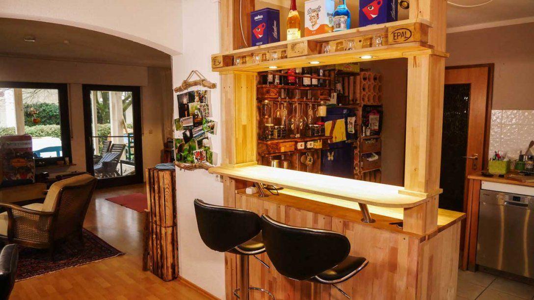 Theke Bar Selber Bauen  Mademyself  Dein Diy Heimwerker Blog von Tresen Küche Selber Bauen Bild
