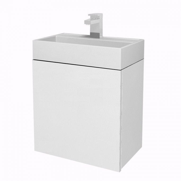 Tiger Items Waschtischunterschrank 40 Cm 1 Tür In Der Farbe Weiß von Bad Unterschrank 40 Cm Breit Bild