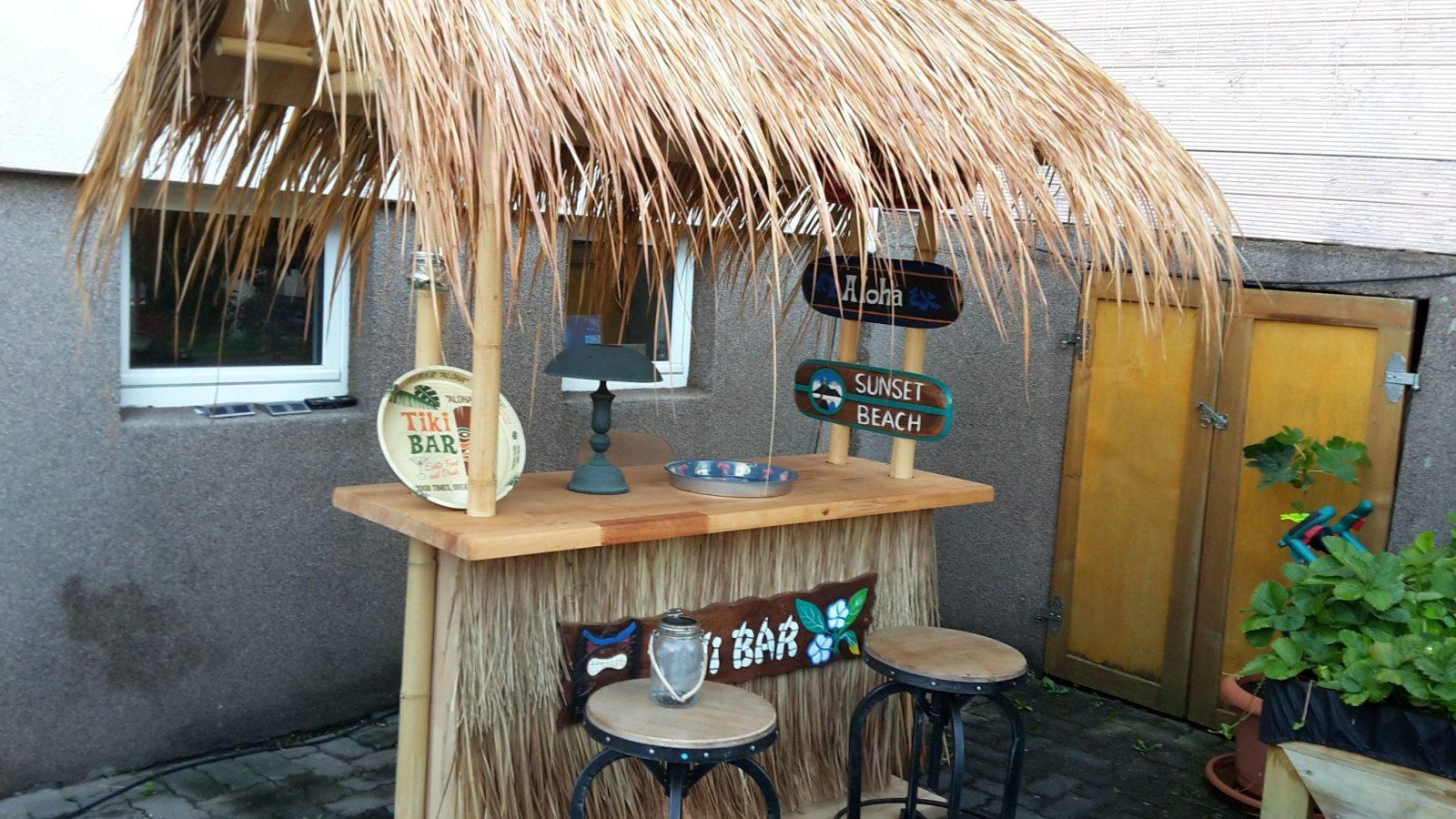 Tiki Bar Bauanleitung Zum Selber Bauen  Heimwerkerforum  Best Of von Tiki Bar Selber Bauen Bild