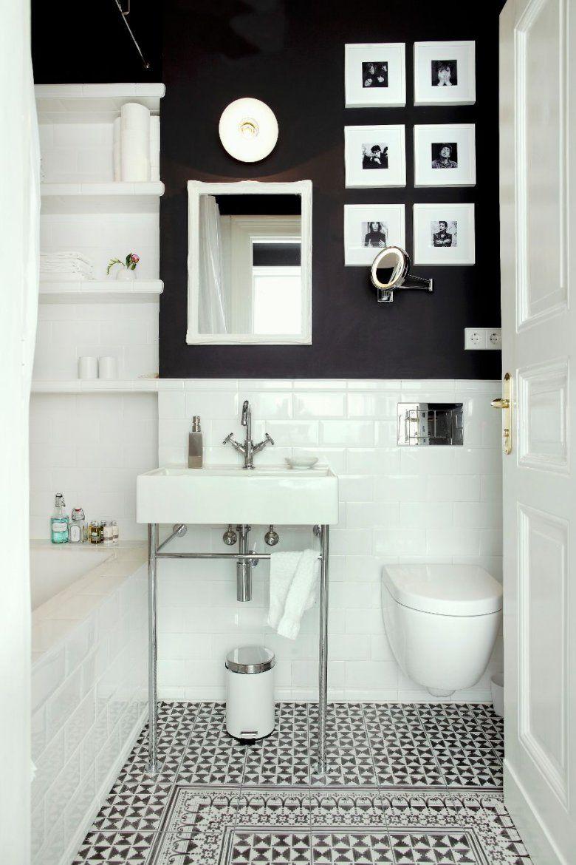 Tipps Für Kleine Badezimmer Hier Im Westwingmagazin  Wandfliesen von Möbel Für Kleine Bäder Bild