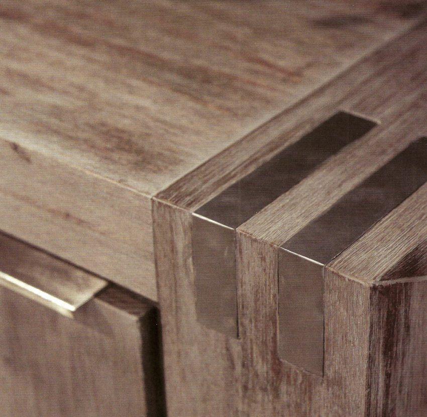 Tisch Akazie Grau  Alitopten von Couchtisch Akazie Grau Photo
