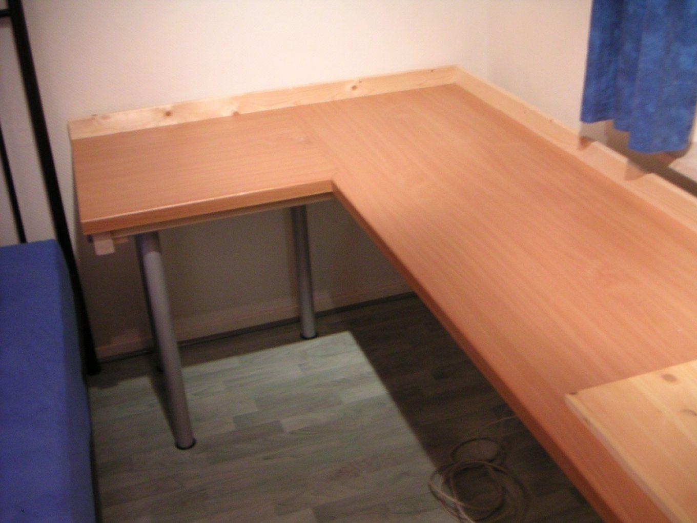 Tisch Aus Arbeitsplatte Selber Bauen Ep09 Hitoiro Avec Pc Im von Tisch Aus Arbeitsplatte Bauen Bild