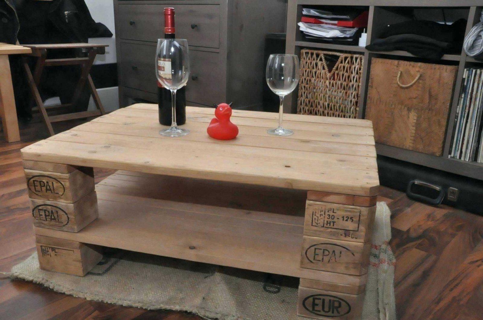 Tisch Aus Europaletten Supersack Palettenmabel Mobel Selber Bauen von Couchtisch Selber Bauen Palette Photo