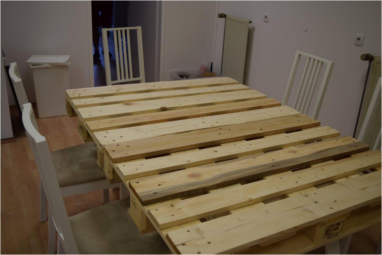 Tisch Aus Paletten Bauen Genial Palettentisch Bauen Esstisch von Esstisch Aus Paletten Bauen Bild