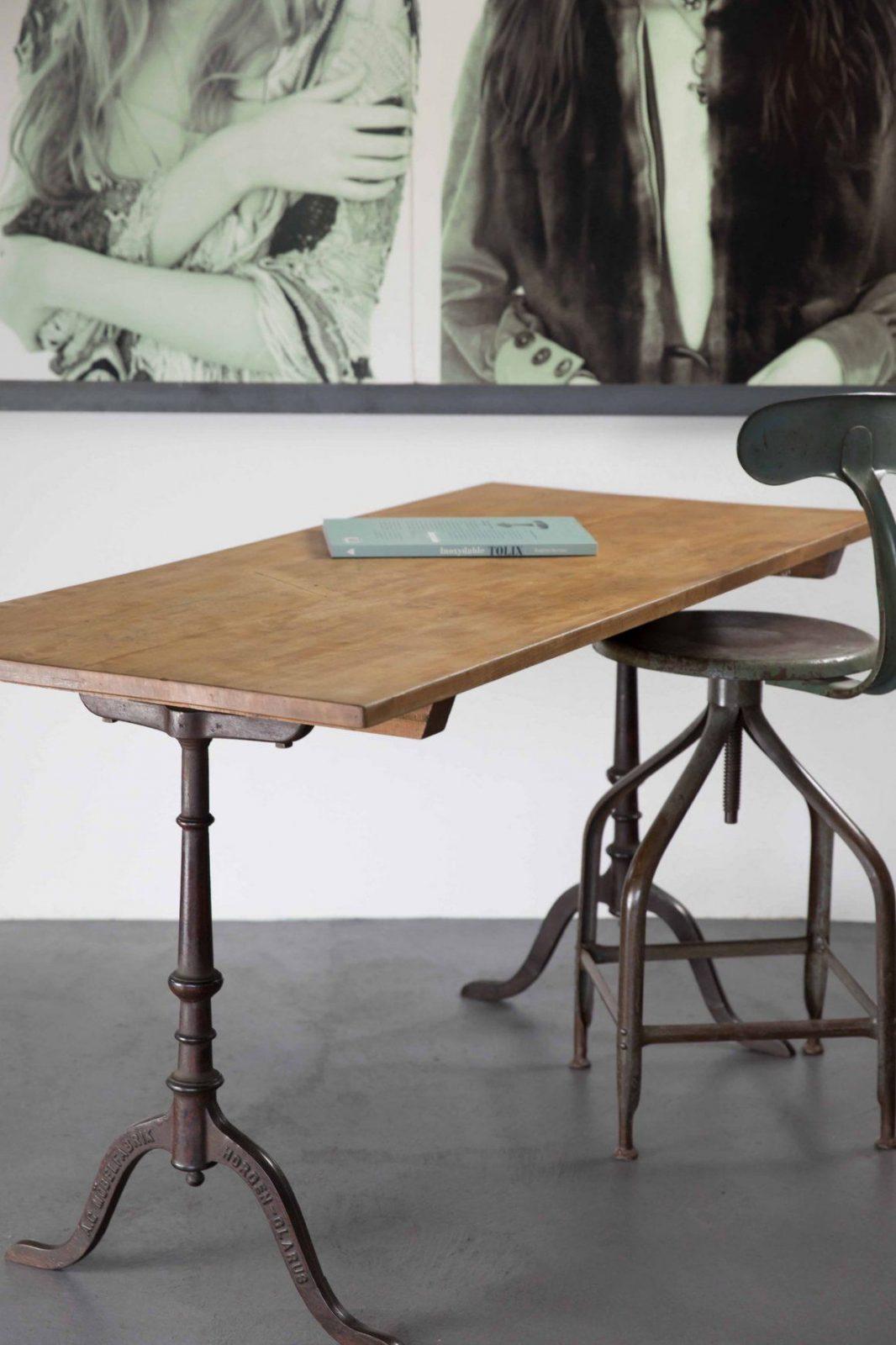Tisch & Bank  Karg & More Vintage Interior Studio von Alte Werkbank Als Esstisch Photo