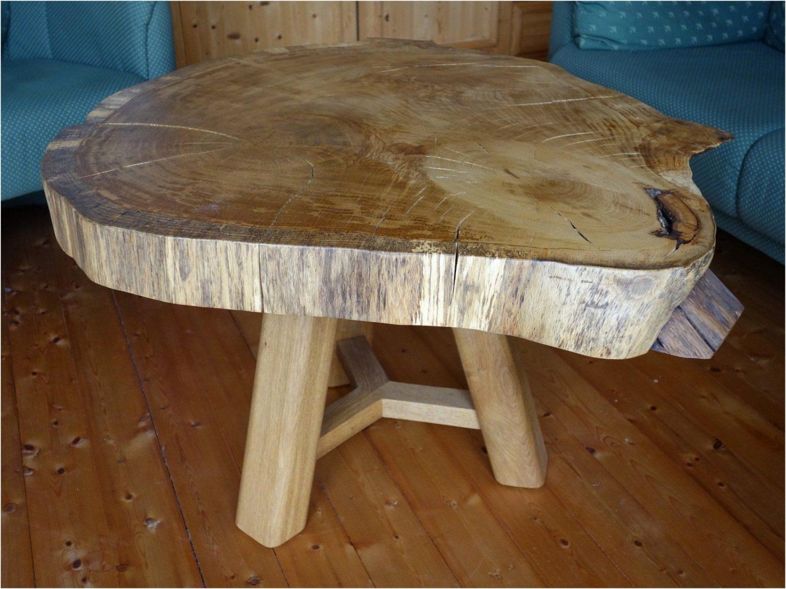 Tisch Baumscheibe Selber Bauen Perfect Design Nachttisch Diy Avec von Tisch Aus Baumstamm Selber Machen Photo