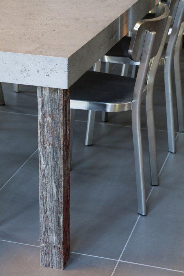 Tisch In Betonoptik Selber Machen  Ideen Mit Effektspachtel von Möbel In Betonoptik Streichen Photo