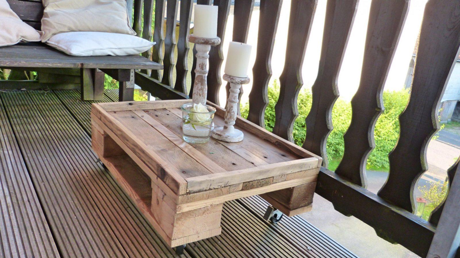 Tisch Selber Bauen (Aus Paletten)  Youtube von Esstisch Aus Paletten Bauen Photo