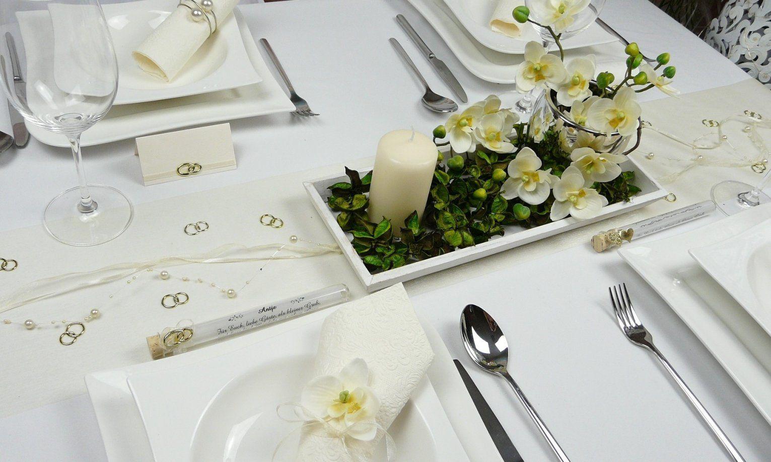 Tischdeko Goldene Hochzeit Vorschläge  Hochzeit Kleid von Tischdeko Für Goldene Hochzeit Photo