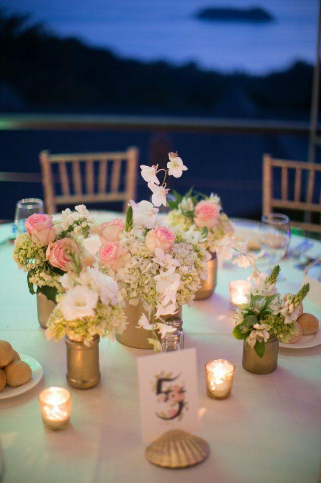 Tischdeko Zur Goldenen Hochzeit  25 Anregungen Fürs Fest von Tischdeko Zur Goldenen Hochzeit Bild