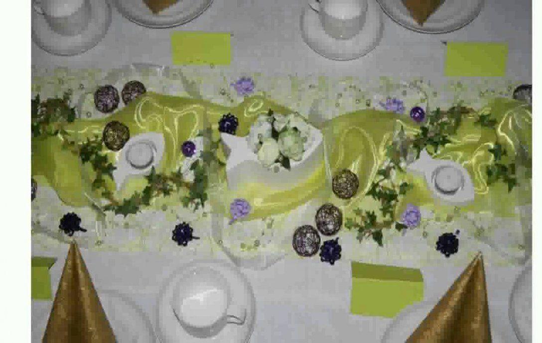 Tischdeko Zur Taufe Selber Machen  Youtube von Tischdeko Taufe Selber Basteln Bild
