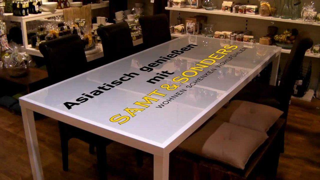 Tischdekoration Asiatisch  Youtube von Asiatische Deko Selber Machen Bild