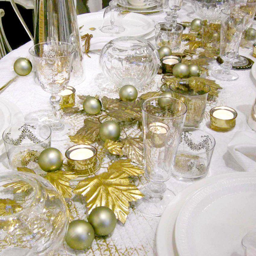 Tischdekoration Weihnachten – Weihnachtliche Tischdeko Selbst Basteln von Tischdekoration Weihnachten Selber Basteln Photo