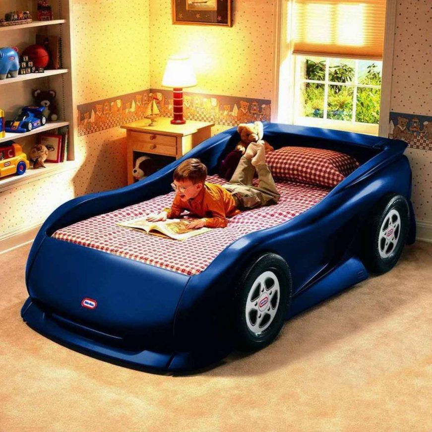Toddler Car Beds Blue — Eflyg Beds  Popular Toddler Car Beds Theme von Toddler Car Bed For Boys Photo