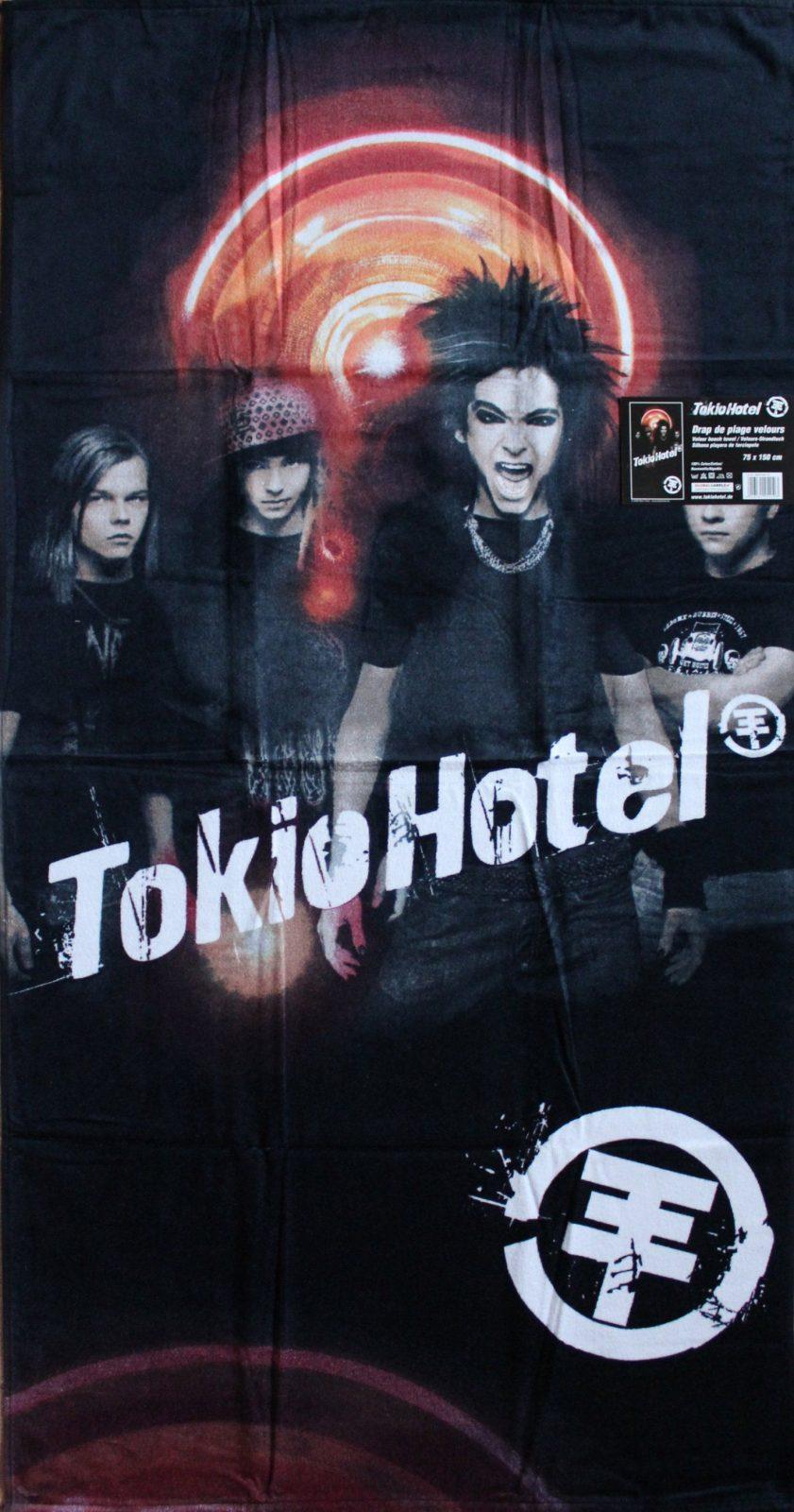 Tokio Hotel Duschtuch Strandtuch 75 X 150 Cm Velour Frottier 100 von Tokio Hotel Bettwäsche Photo