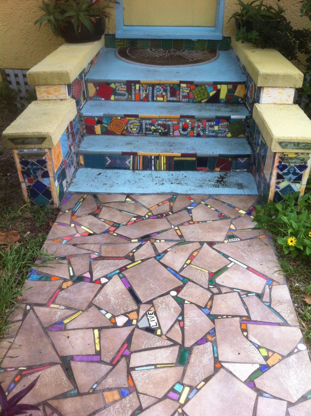 Toll Selber Machen  Mosaik  Pinterest  Selber Machen Mosaik von Mosaik Im Garten Selber Machen Photo
