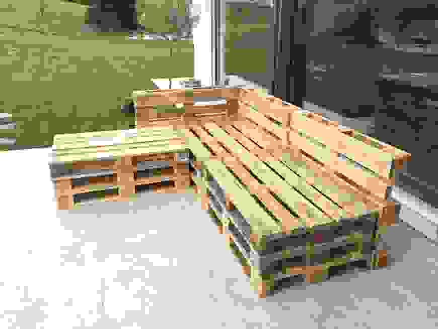 Tolle 40 Bauholz Möbel Selber Bauen Designideen  Einzigartiger Garten von Bauholz Möbel Selber Machen Bild