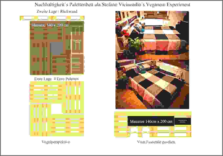 Tolle 40 Bett Aus Europaletten 140X200 Anleitung Schema  Die Idee von Bett Aus Europaletten 140X200 Anleitung Bild
