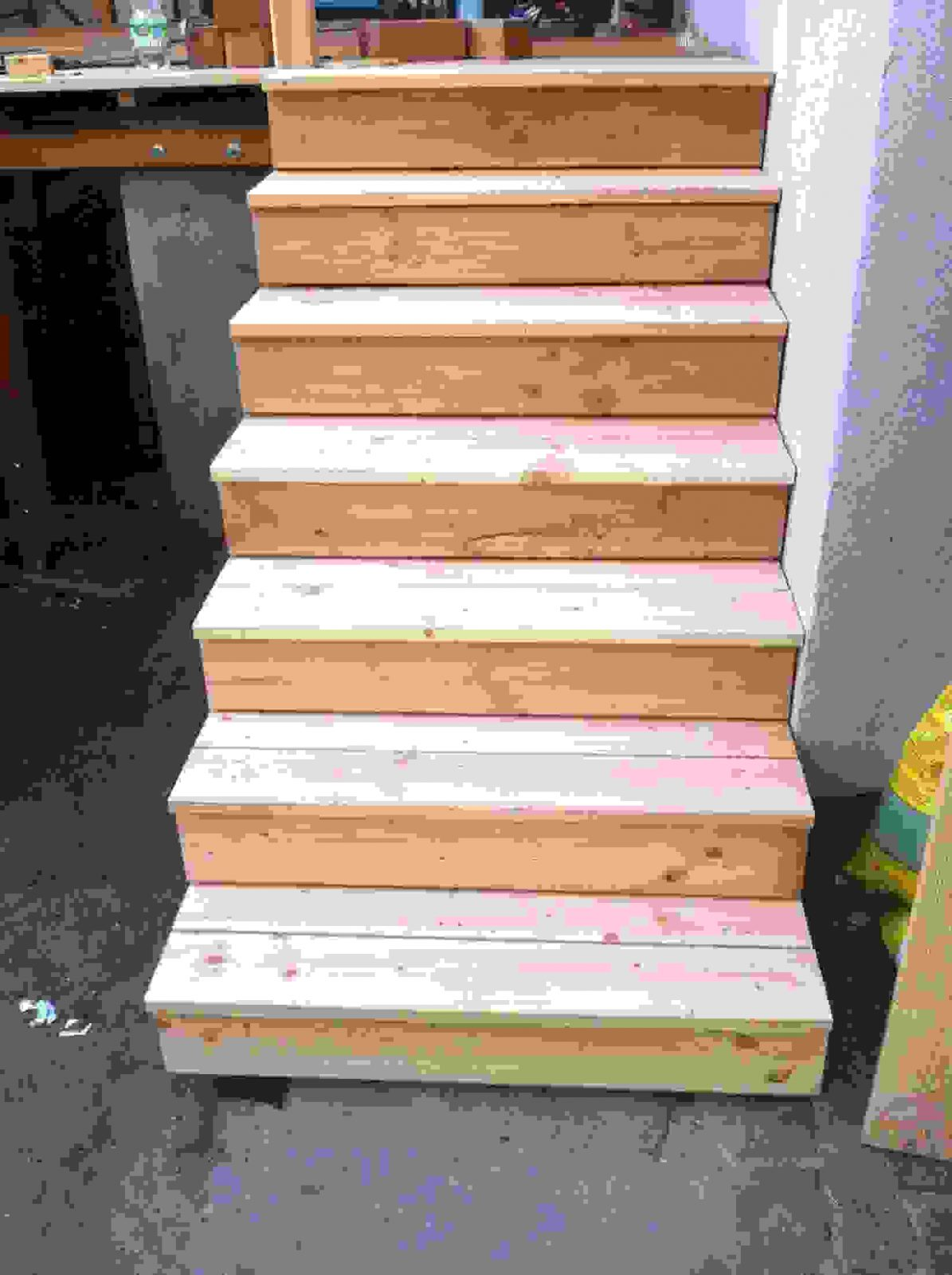Tolle 40 Treppe Selber Bauen Holz Ideen  Einzigartiger Garten von Fenster Plexiglas Selber Bauen Photo