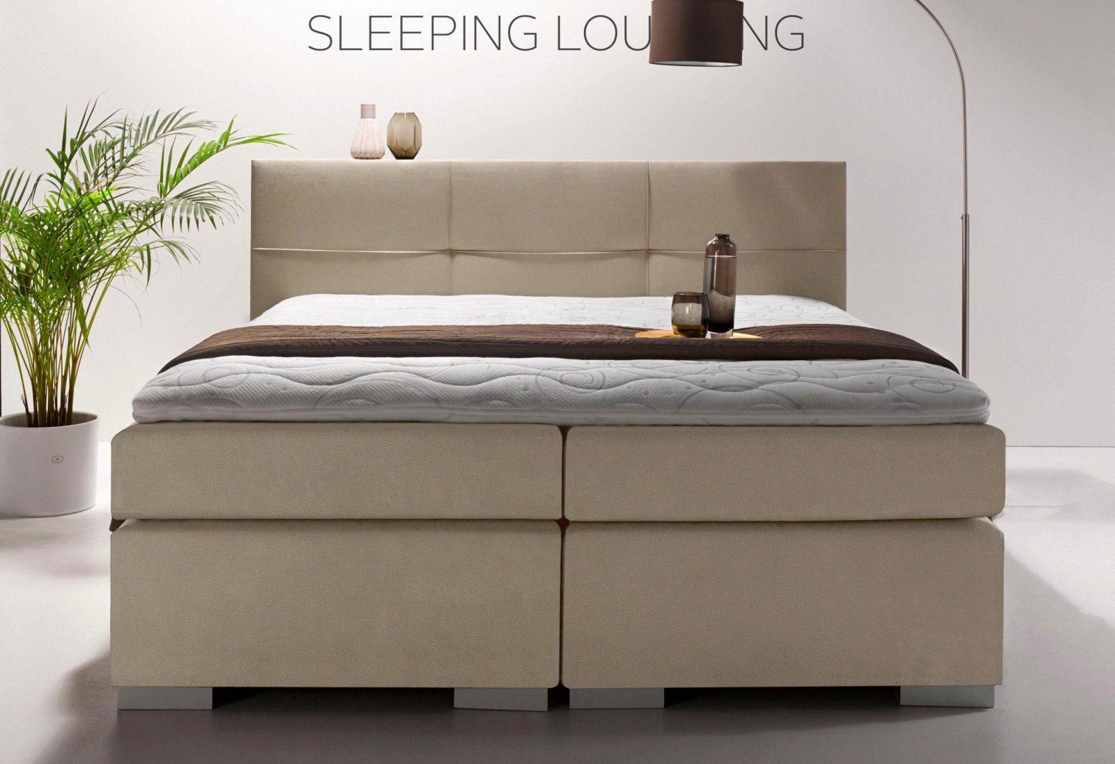 "Tolle Bett ""gravelines"" Zum Boxspringbett Inkl Topper  Schlafzimmer von Breckle Boxspringbett Inkl. Topper Bild"