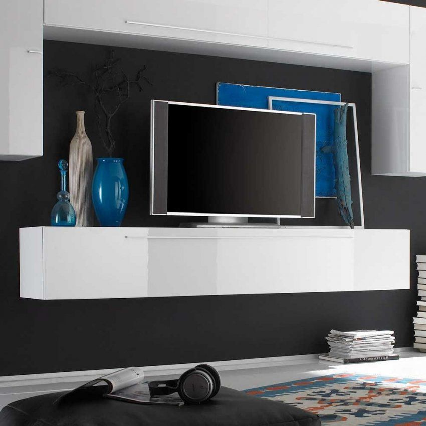 Tolle Tv Möbel Weiß Hochglanz Hängend Deutsche Deko Pinterest Von Tv