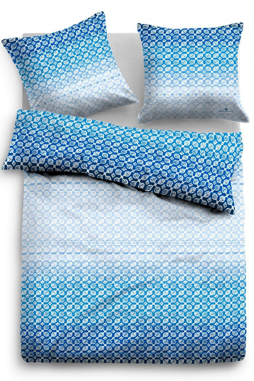 Tom Tailor Baumwollsatin Bettwäsche 69636838 Blau von Satin Bettwäsche Blau Bild