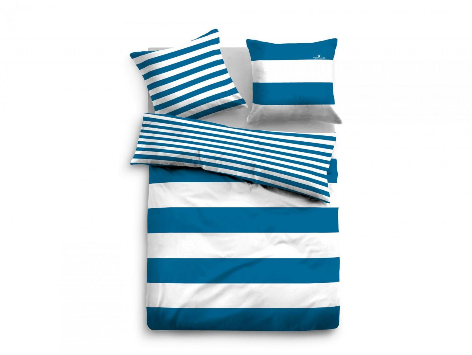 Tom Tailor Bettwäsche Linon Bed Linen 135X200+80X80 Cm von Tom Tailor Bettwäsche 135X200 Bild
