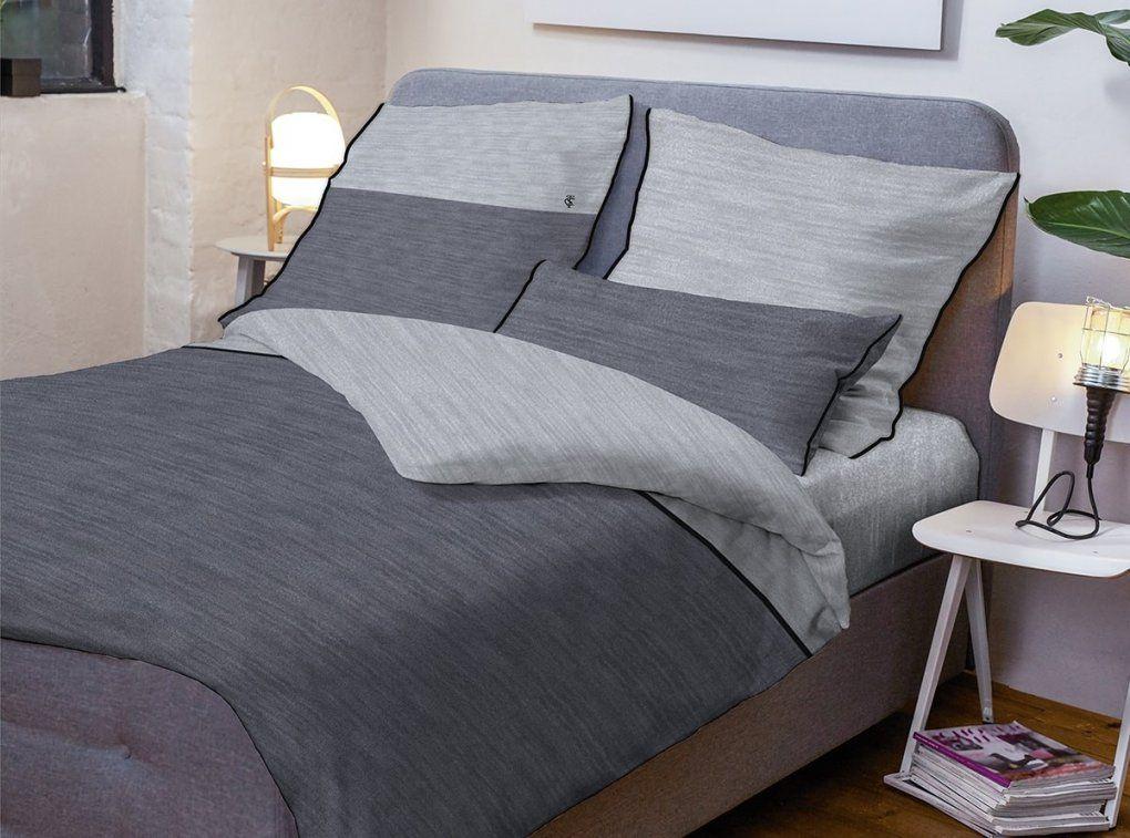 Tom Tailor Melangejerseybettwäsche Uni Kaufen  Bettenriese von Tom Tailor Bettwäsche Satin Photo